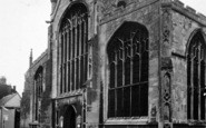 Bury St Edmunds, St James Cathedral Church c.1950