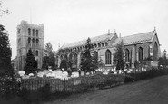 Bury St Edmunds, St James's Cathedral Church 1898