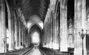 Bury St Edmunds, St James's Cathedral Church Interior 1898