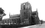 Bury St Edmunds, St Mary's Church 1898
