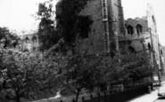 Bury St Edmunds, St Mary's Church c.1965