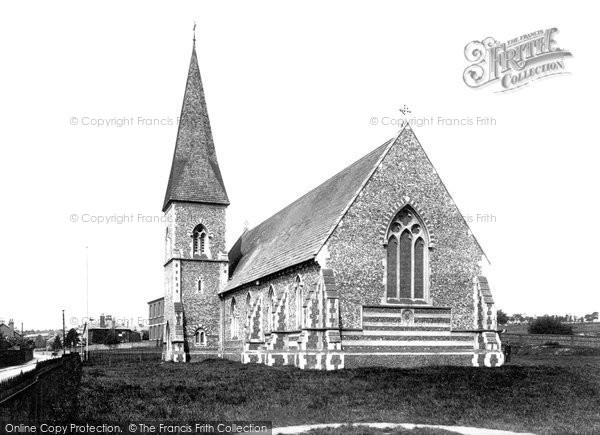 Bury St Edmunds, St Peter's Church 1895
