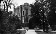 Bury St Edmunds, The Abbey Gateway c.1955