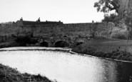 Bury St Edmunds, The Abbots Bridge c.1955