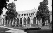 Bury St Edmunds, The Cathedral c.1960