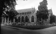 Bury St Edmunds, The Cathedral Church c.1955