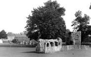 Bury St Edmunds, The Dovecote, Abbey Gardens c.1955
