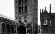 Bury St Edmunds, The Norman Tower c.1950