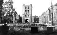 Bury St Edmunds, The Norman Tower c.1955