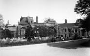Bury St Edmunds, West Front Of Abbey Church c.1900