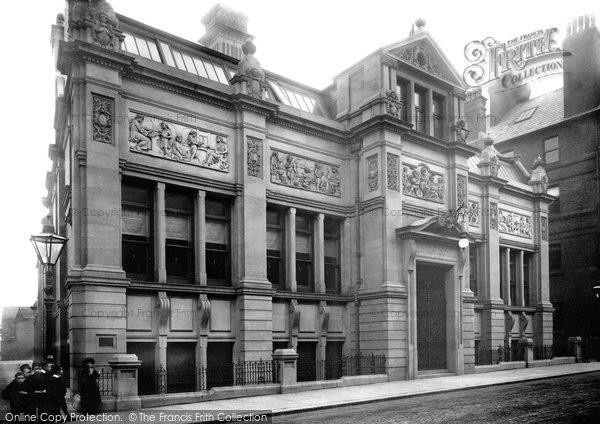 Bury, Technical School 1895