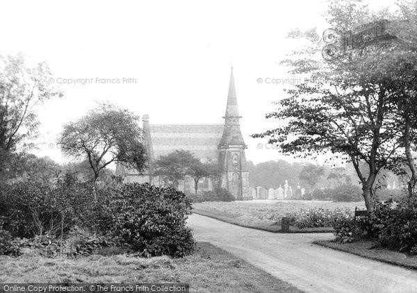 Bury, The Cemetery 1895