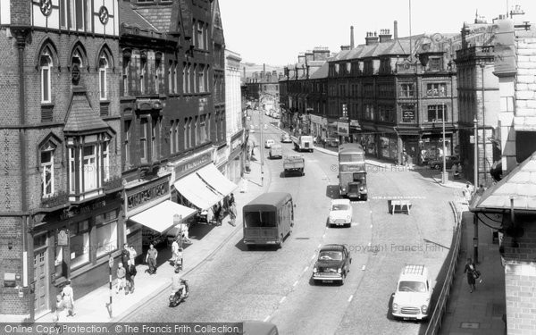 Bury, The Rock c.1955