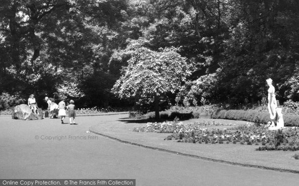 Bury, The Rock In Clarence Park c.1955