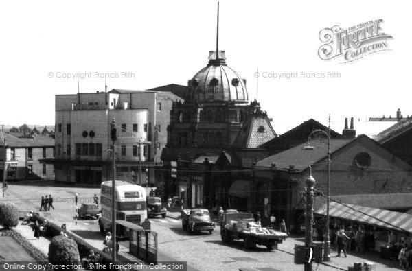 Bury, The Royal Cinema c.1955