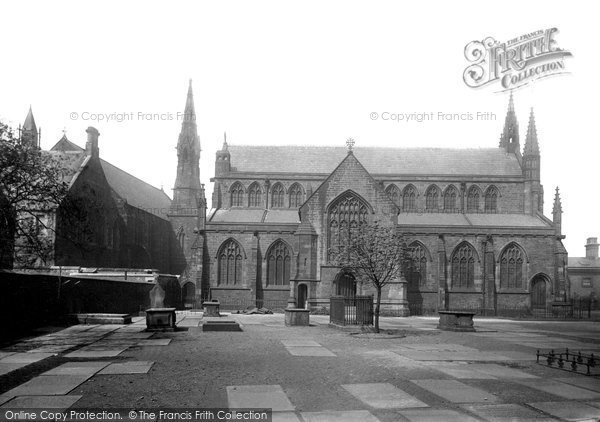 Bury, Unitarian Church And School 1895