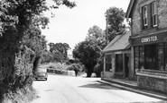 Bury, Village Stores c.1955