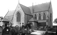 Bury, Walmersley Church 1895