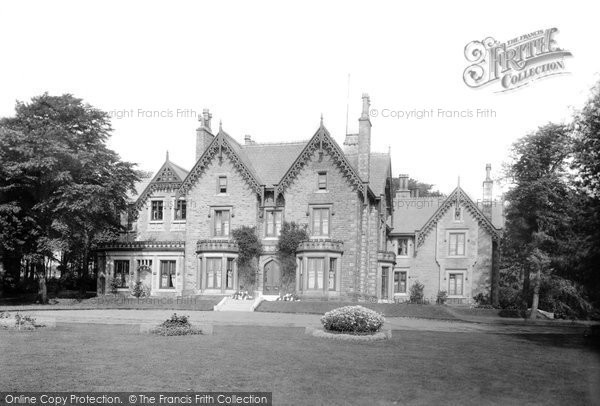 Photo of Bury, Walshaw Hall 1895