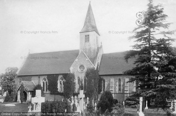 Busbridge, Church Of St John The Baptist 1895