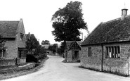 Buscot, The Village c.1950