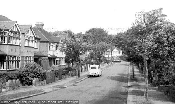 Bush Hill, Elmscott Gardens c.1955