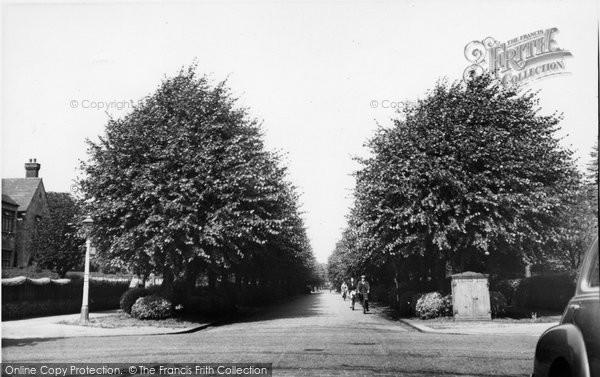 Bush Hill Park, Wellington Road c.1955