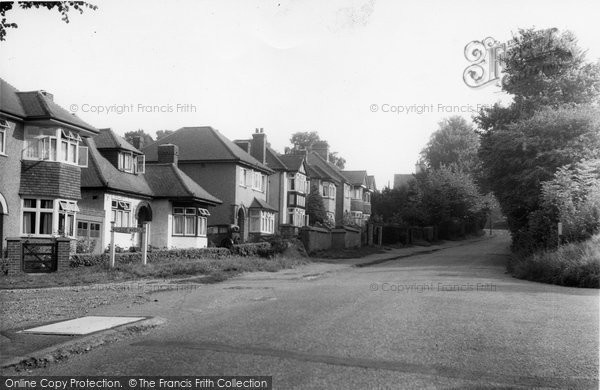Bushey Heath, Little Bushey Lane c.1955