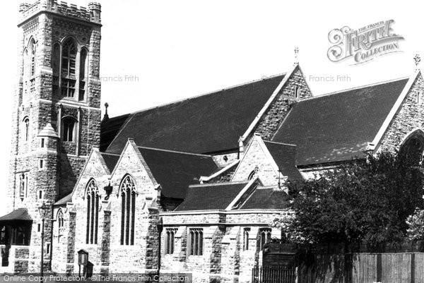 Bushey Heath, St Peter's Church c.1955