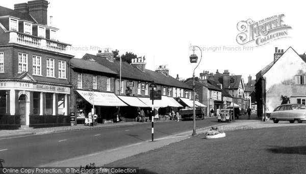 Photo of Bushey, High Street c1955