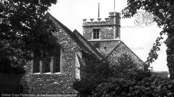 Bushey, Parish Church Of St James c.1955