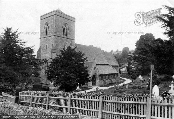 Bussage, St Michael And All Angels Church 1910