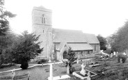 Bussage, St Michaels And All Angels Church 1910