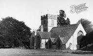 Butleigh, St Leonard's Church c.1955