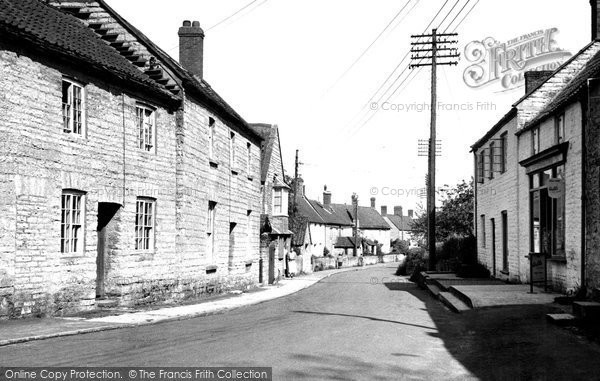 Butleigh, The Village c.1955