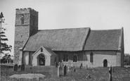 Butley, Church Of St John The Baptist c.1955