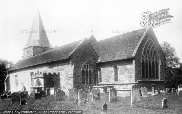 Buxted, St Margaret The Queen Church 1902