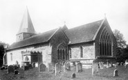 Buxted, St Margaret The Queen's Church, Buxted Park 1902