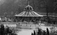 Buxton, Ashwood Park Bandstand 1923