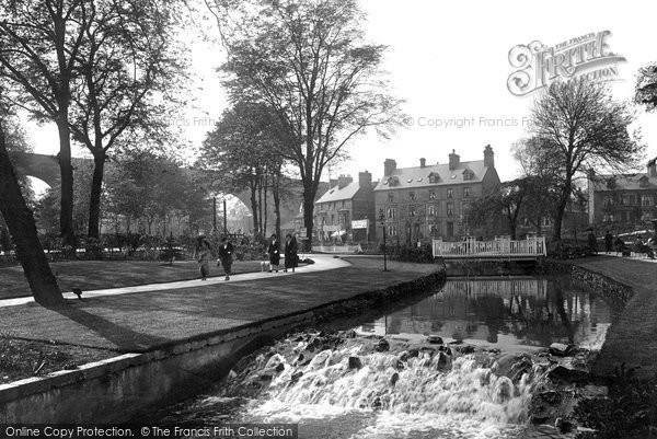 Buxton, Ashwood Park, Cascade 1923