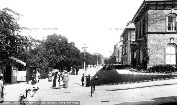 Buxton, Broadwalk 1914