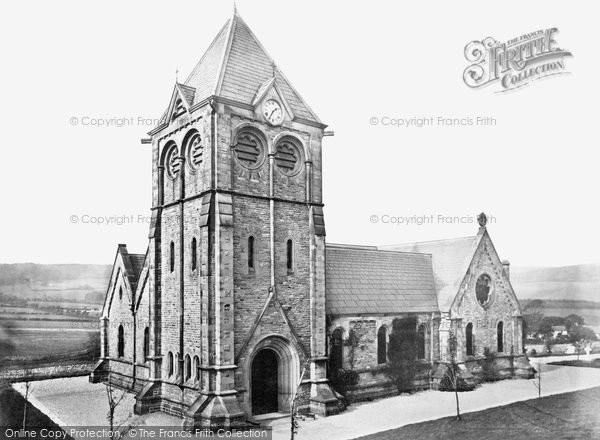 Buxton, Burbage Church c.1862