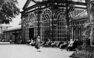 Buxton, Deckchairs At Pavilion Gardens 1932
