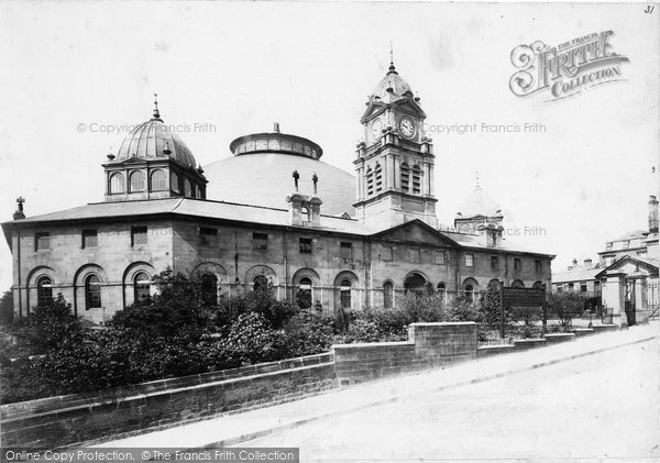 Buxton, Devonshire Hospital c.1900