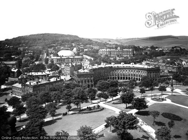 Buxton, From The Slopes 1932
