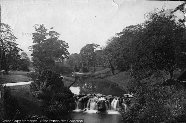 Buxton, Gardens 1886