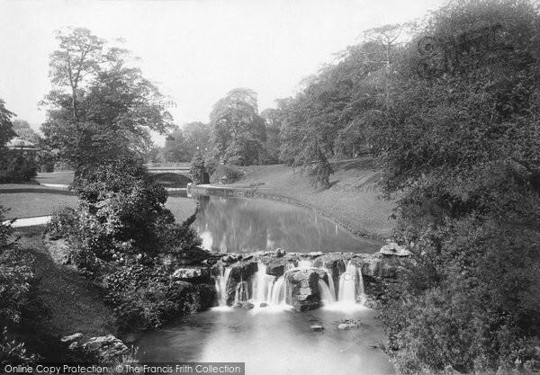 Buxton, Gardens 1894
