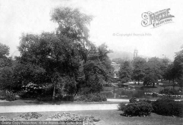 Buxton, Gardens 1896
