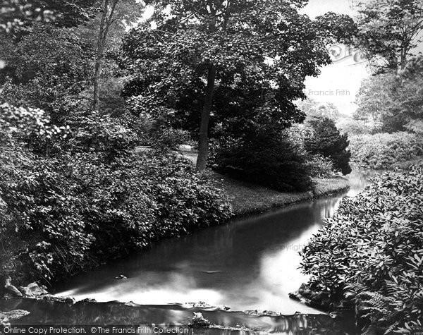 Buxton, Gardens c.1876