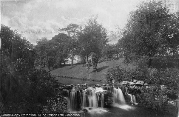 Buxton, Gardens, The Falls 1886